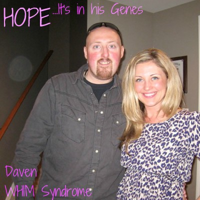 Daven Edwards is battling WHIM Syndrome